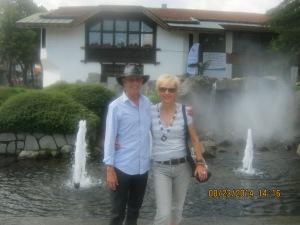 Cveta and I in Bansko