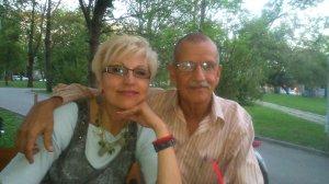 Cveta and I,