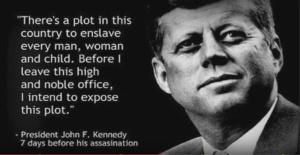 J F Kennedy